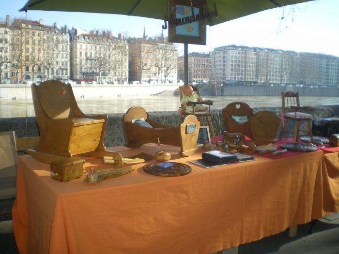 Marché de la Création de Lyon - Quai bondy