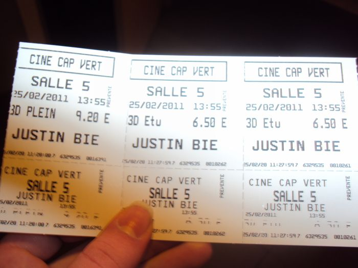 Les tickets x) <3
