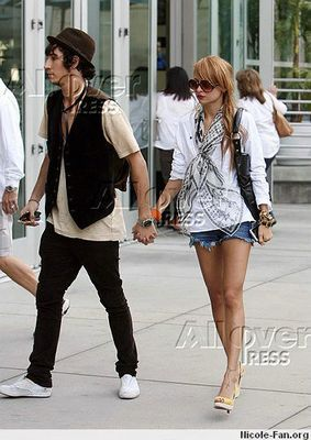 Avec son copain