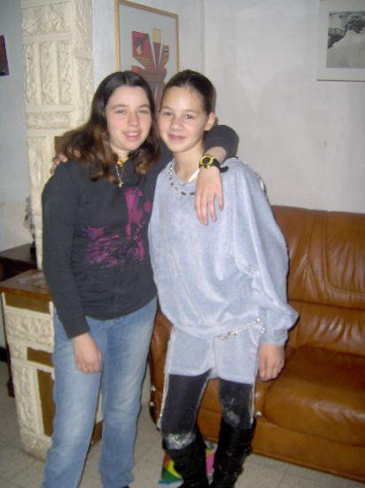 moi avec ma cousine