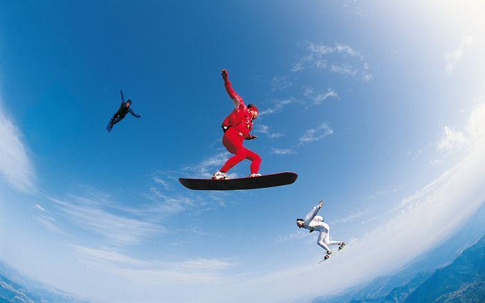 SKY SURFiNG !!!! Surfer sur les courant d'air !