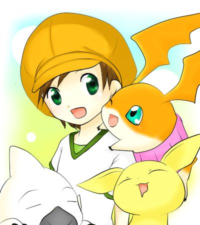 :: Patamon with friends ::