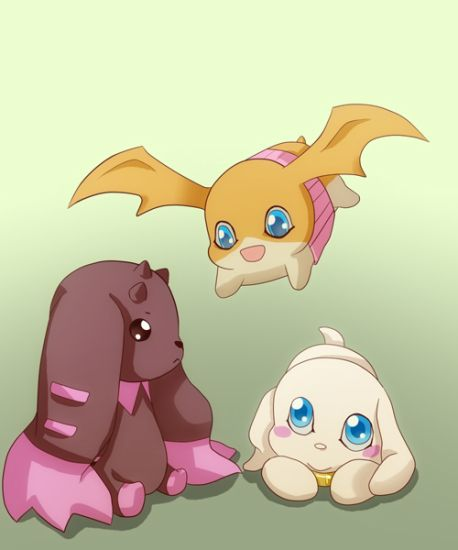 Patamon and Friends ~