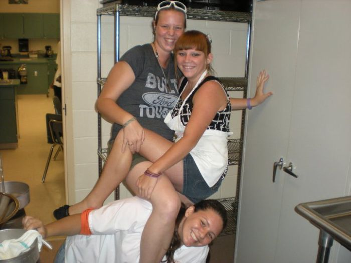 friend casey, me, and on bottom chelsea