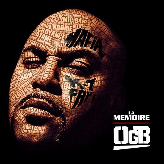 OGB pochette officielle de LA MEMOIRE à venir le 30 mai 2011