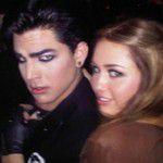 Miley et Adam Lambert