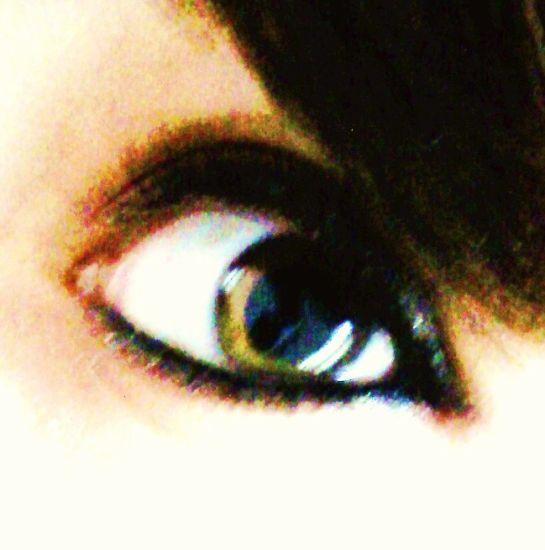 My eye -
