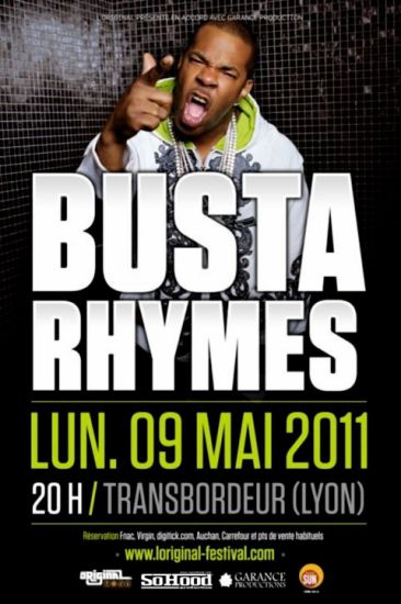 BUSTA RHYMES!!!! à LYON le 9Mai!!!