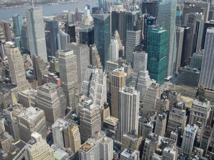 Vue de New York depuis l'Empire State Building !