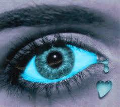 oeil ki pleur
