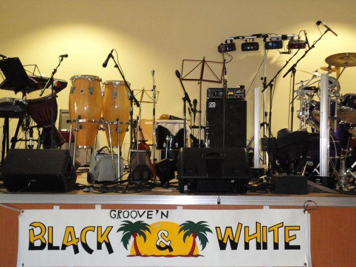black and wihite