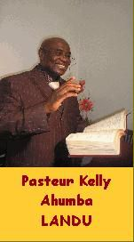 Notre pasteur Kelly AHUMBA