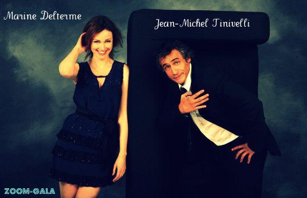 Marine Delterme et Jean-Michel Tinivelli