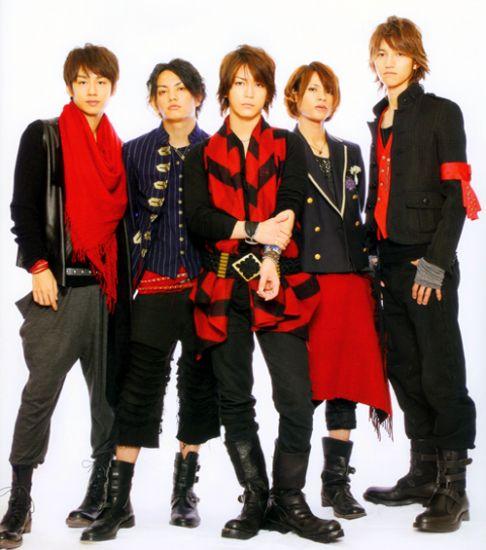 kat tun mon groupe japonias préféré