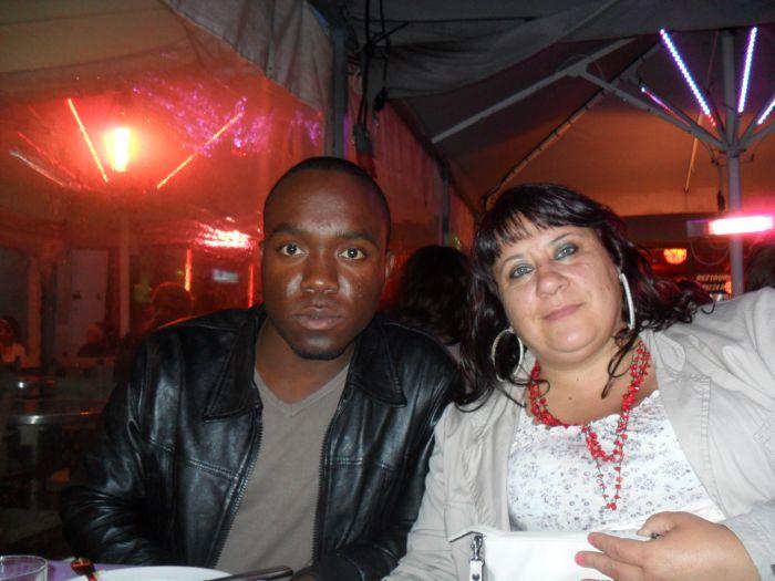 NOUS DEUX A MONTPELLIER JUIN 2011