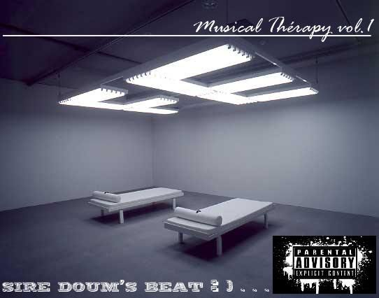 Jacket de ma mix-tape Musical Thérapy vol.1 Coming .........