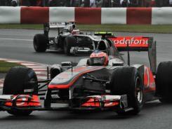 Jenson Button,Canadian G P