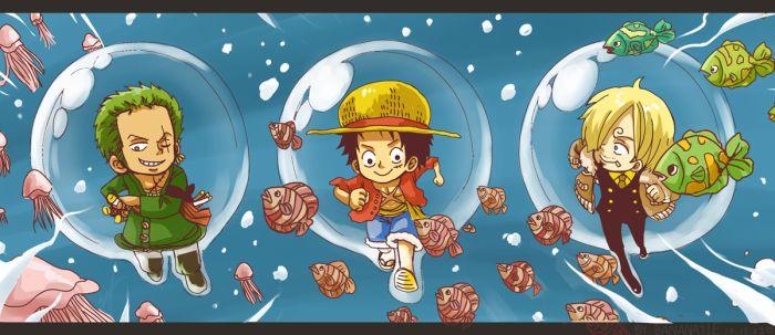 Zoro&Luffy&Sanji