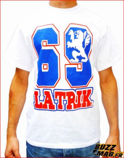 Tshirt blanc 69 LATRIK LYON