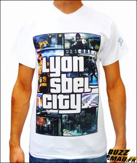 T-Shirt LSC (Lyon Sbel City)
