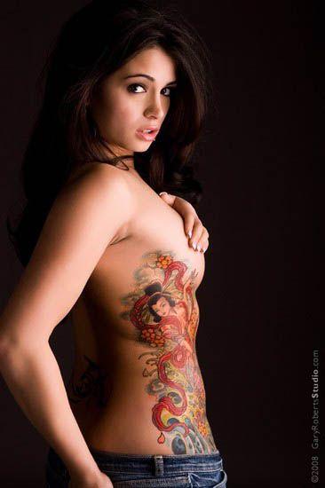 tatoo feminine jadore sa