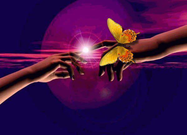 LA main de cet être exceptionnel et charitable...