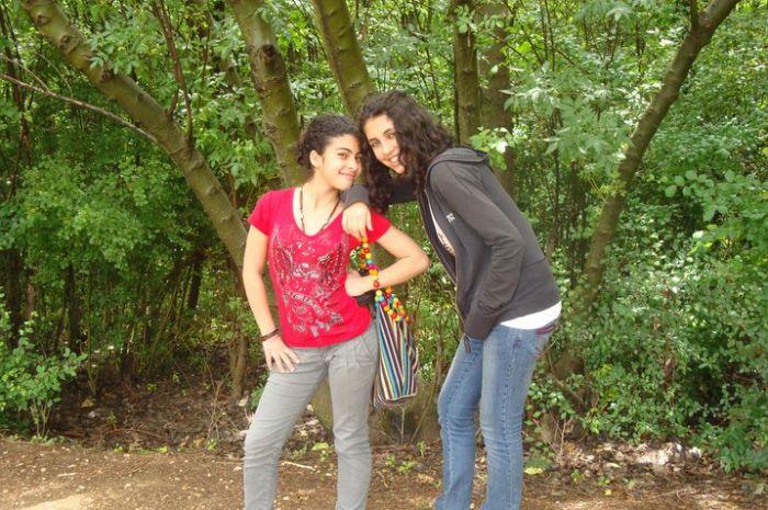 moi avec mon amie <3