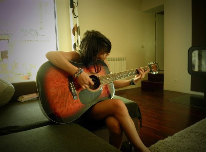 La Guitar ? Une passion qui ne s'arrete pas !! <3