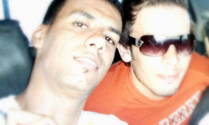 mon amié GHINASS et MOI