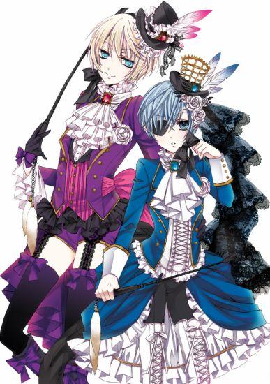 Ciel Phantomhive & Alois Trancy ( Black Butler )