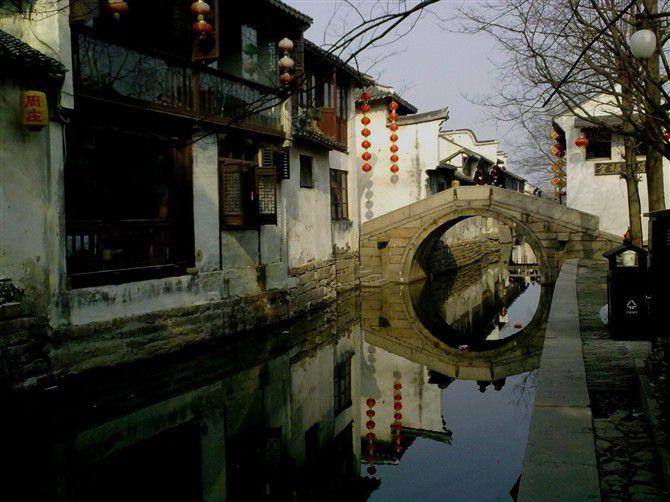 Zhouzhuang  Une ville ancienne