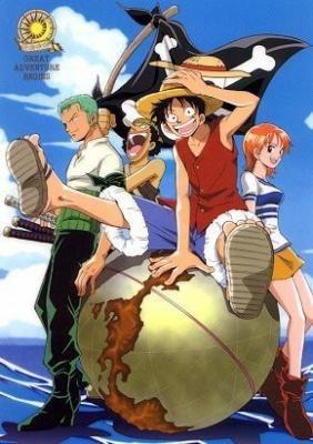 One Piece saison 1: luffy zoro et nami