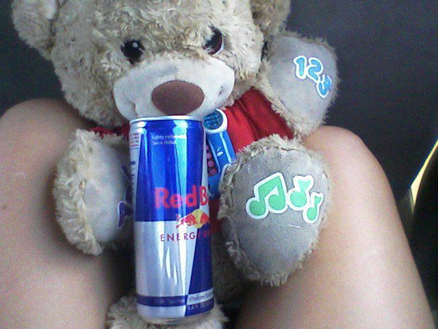 red bull is my addiciton!