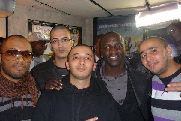 a skyrock avec Akon