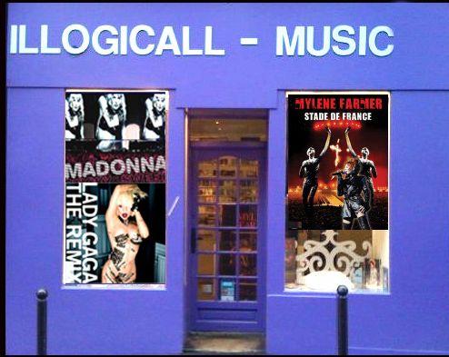 ILLOGICALL MUSIC DISQUAIRE PARIS