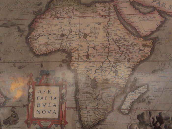 1er carte d'afrique