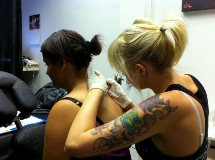 1er tattouage !