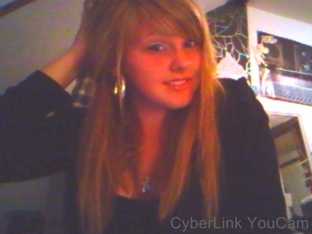 Photo webcam, je suis une folle.