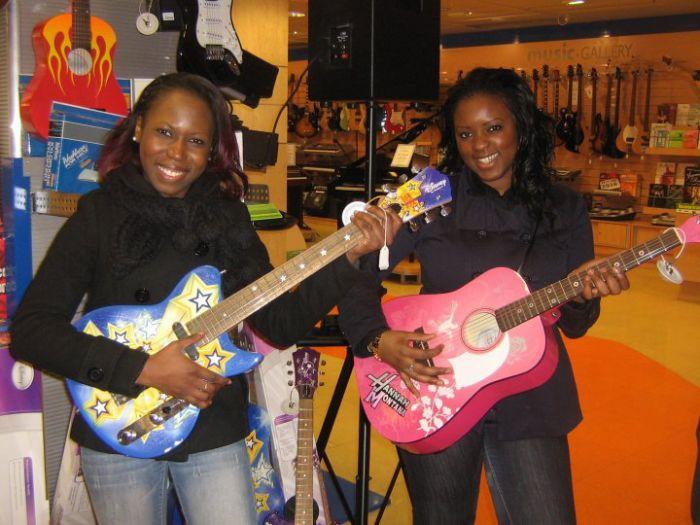 Aisha et Westiana
