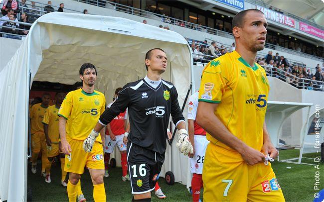Reims-FC Nantes  coupe de la ligue