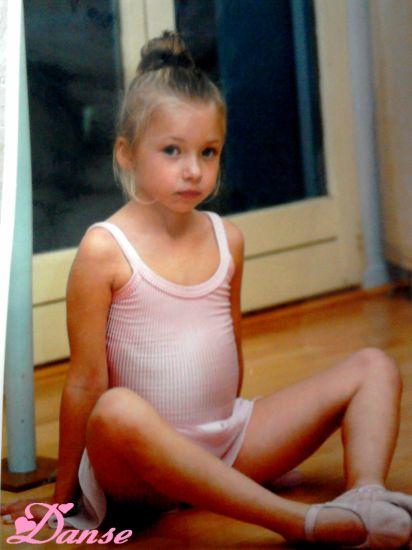 Déja danseuse a 4 ans ;)