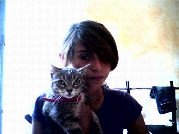 Moi et mon chat  ! ♥
