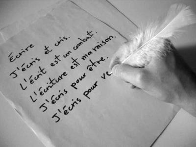 L'écrit est un combat.