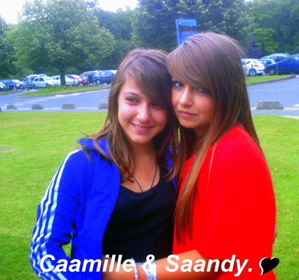Camille & Sandy.♥