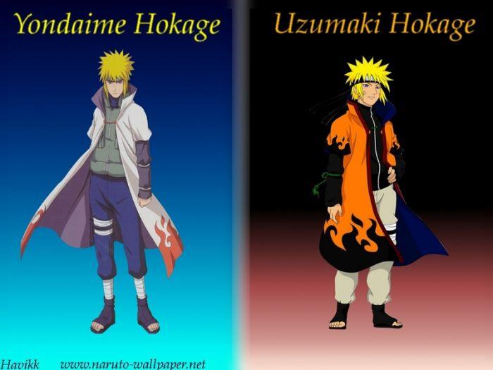 Minato Et Naruto Hokage