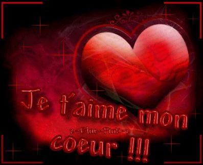 je t' aime mon coeur !!!!!!!!!!!