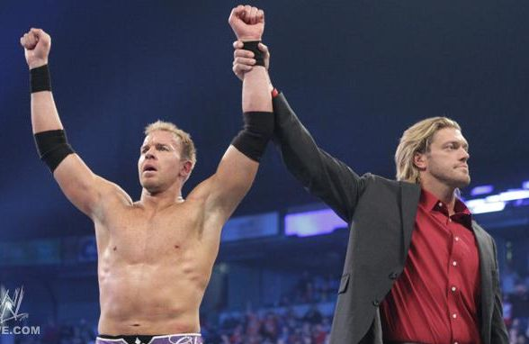 edge et christian lors d'un match