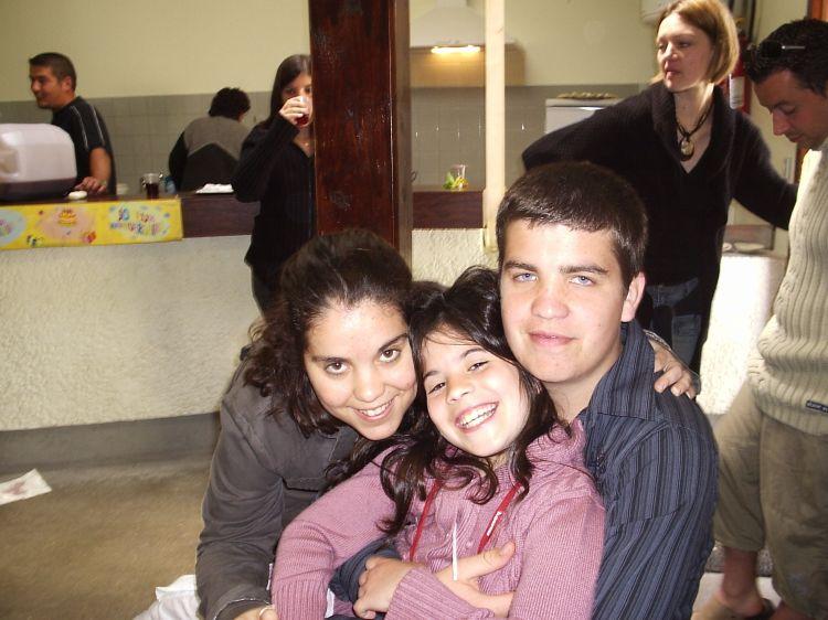 avec mon frere et ma soeur