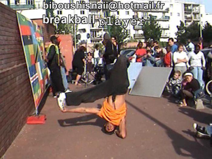 """breakball player """"snaibi """" à aulnay sous G8 clip de """"sefyu"""""""