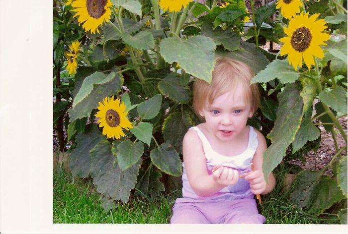 ma petite niece !!